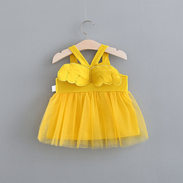 Strap Wings Summer Dress