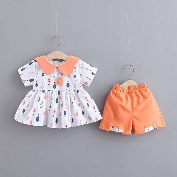 Balloon Printed Summer Set