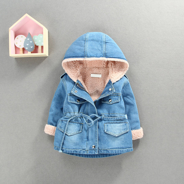 Denim Winter Coat