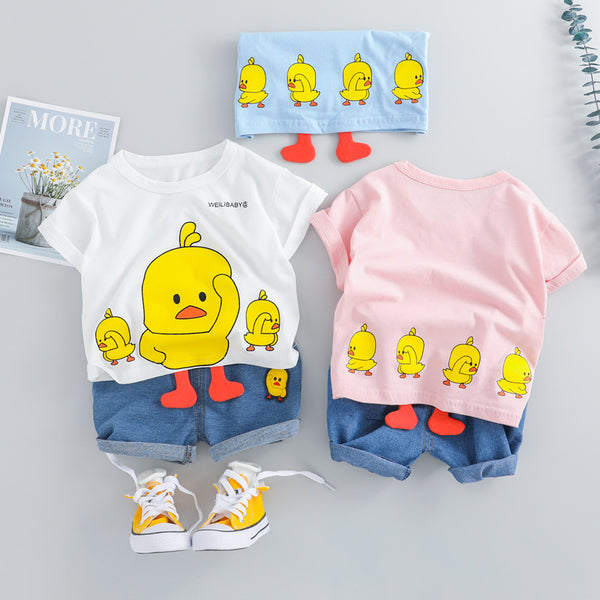 Duck Printed Summer Set