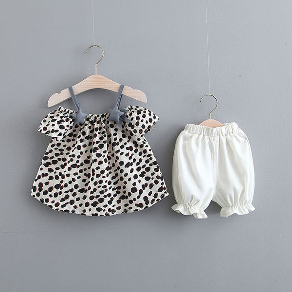 Leopard Printed Summer Set