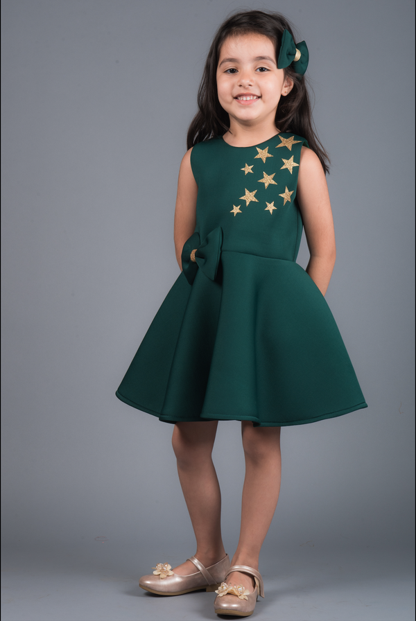 Golden Stars Neo Dress