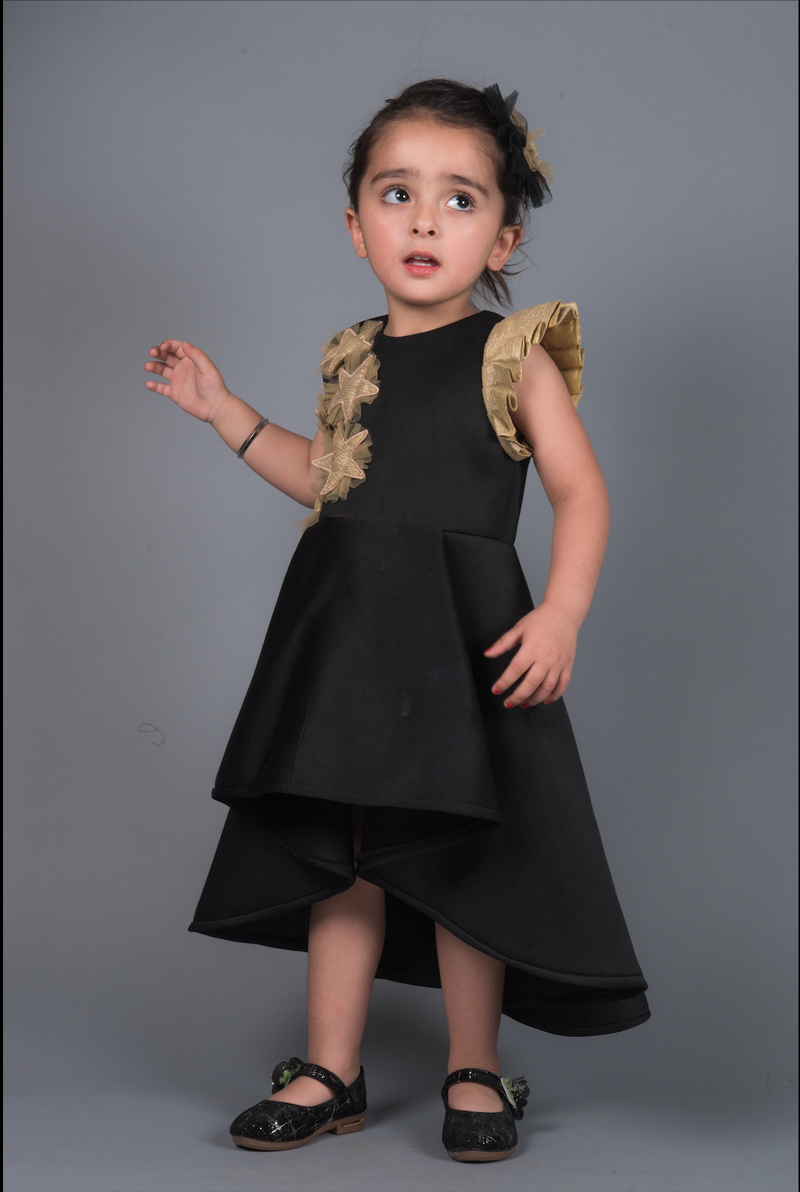 Black Eliza Star Dress