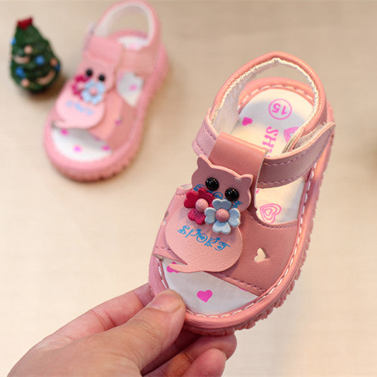 Owl Toddler Sandals