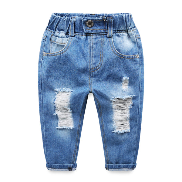 Rugged Light Blue Baby Denims