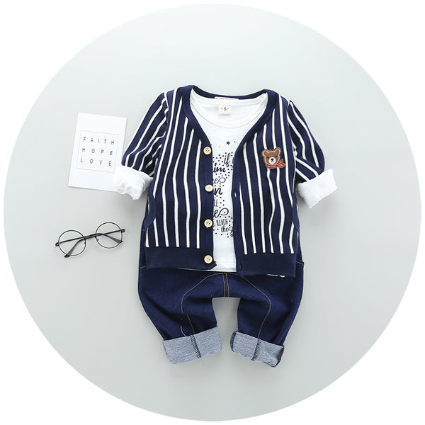 Cardigan Set For Boys