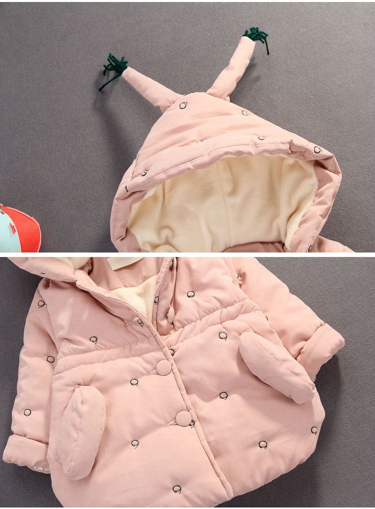 Baby Girls Padded Jacket