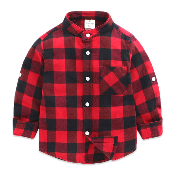 Classic Checks Shirts For Boys