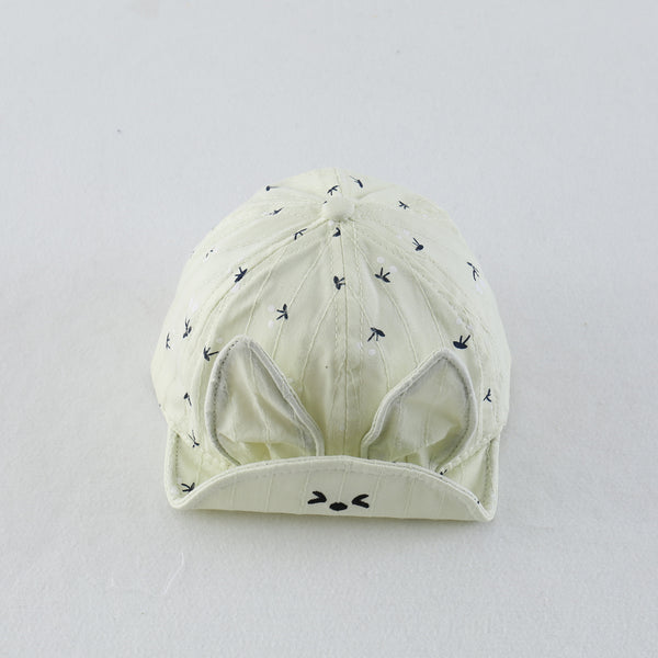 Rabbit Printed Cap