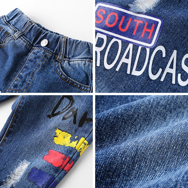 Denim With Patches