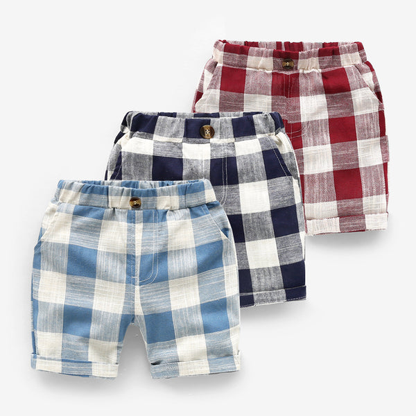 Cool Checks Summer Shorts