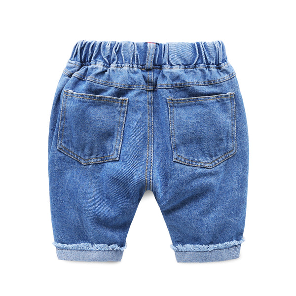 Rugged Denim Shorts