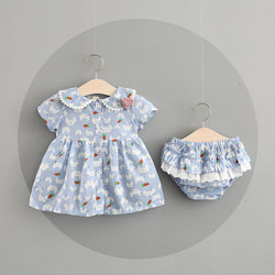 Cat Printed Bloomer Sets