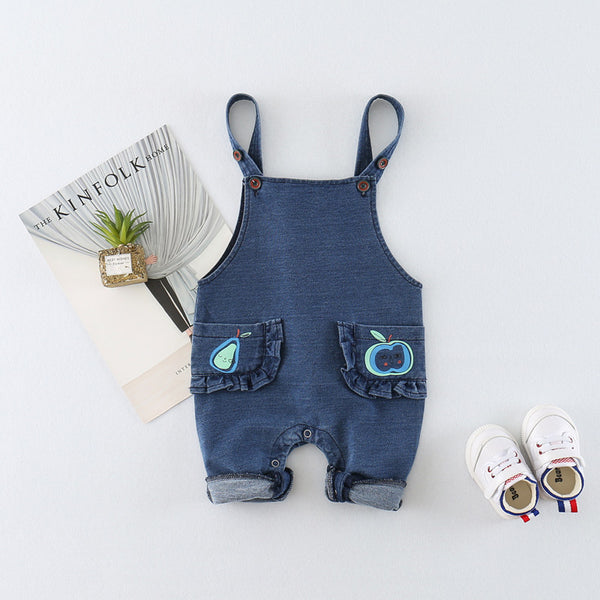 Apple Pocket Dungaree