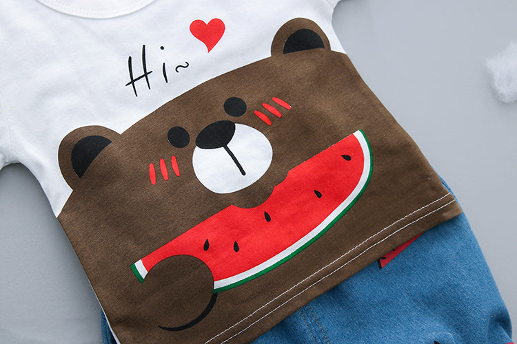 Bear Watermelon Summer Set