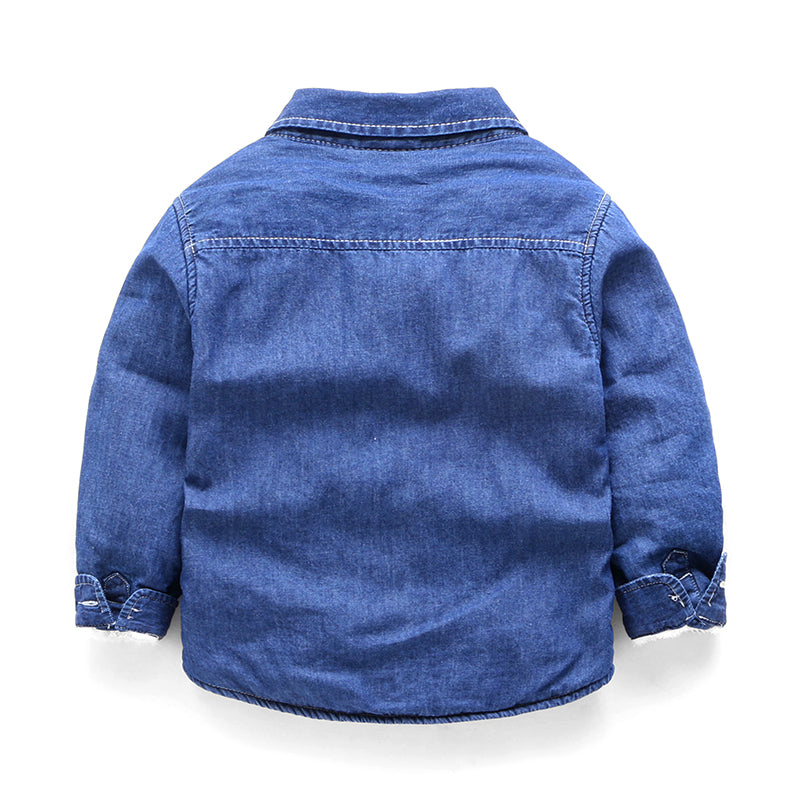 Denim Winter Shirt