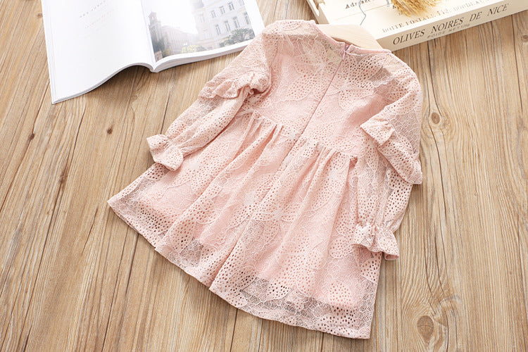 Russel Jacquard Dress for Girls