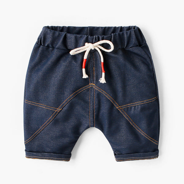 Denim Joggers Shorts