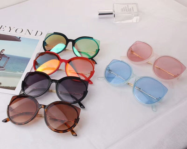 Cat Eye Transparent Sunglasses