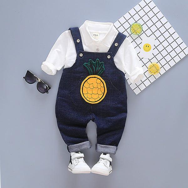 Pineapple Overall Set