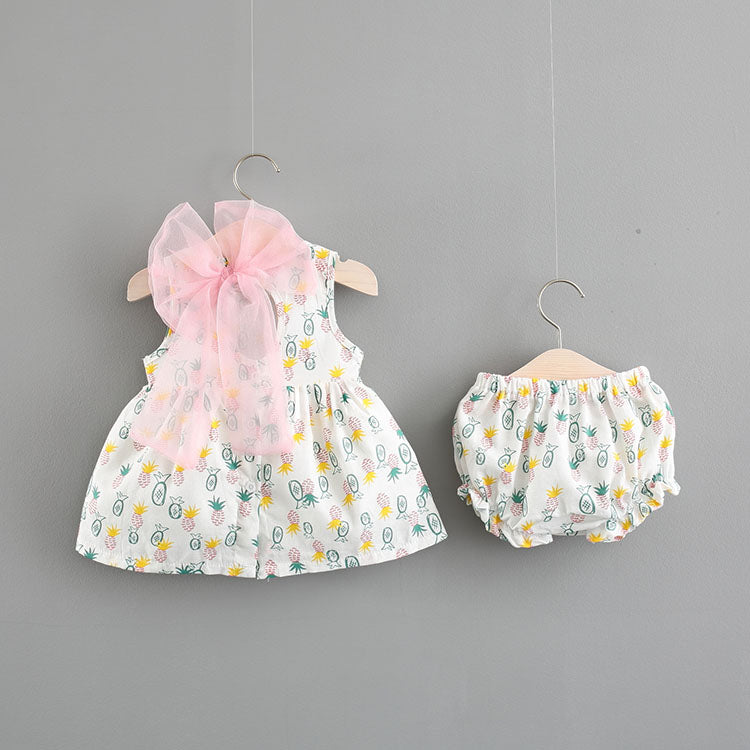Pineapple Printed Bloomer Sets