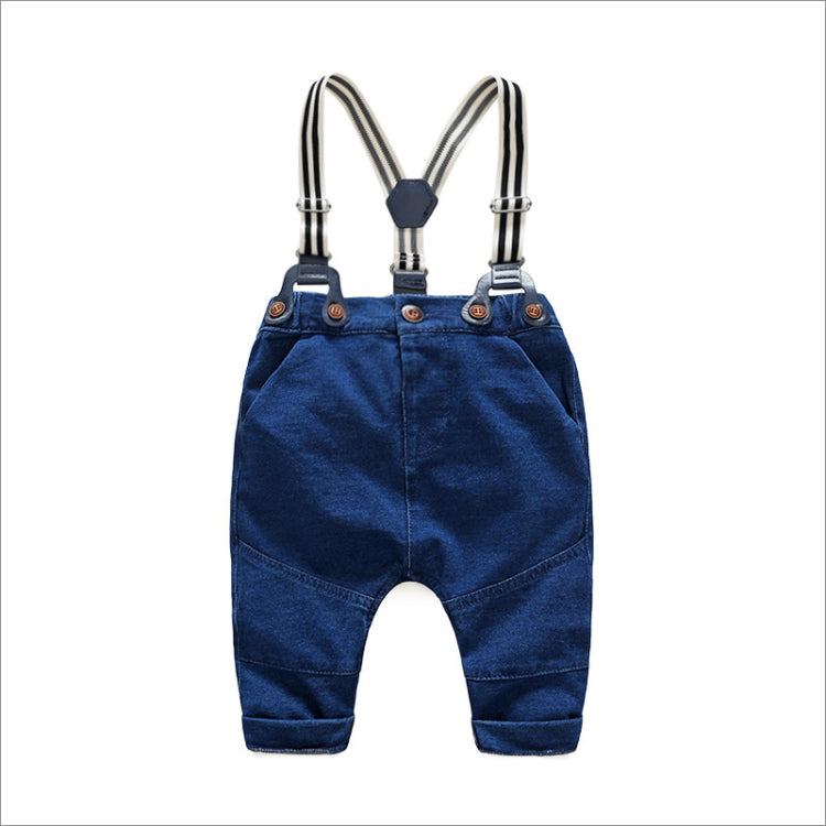 Anchor Gentleman Romper Set For Kids