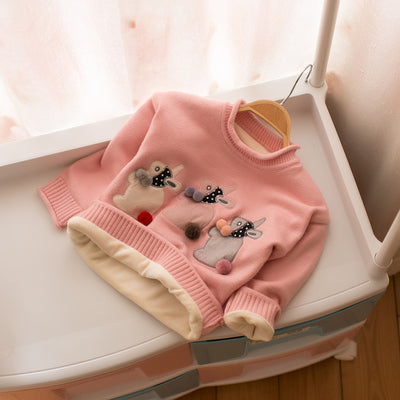 Three Rabbit Sweater
