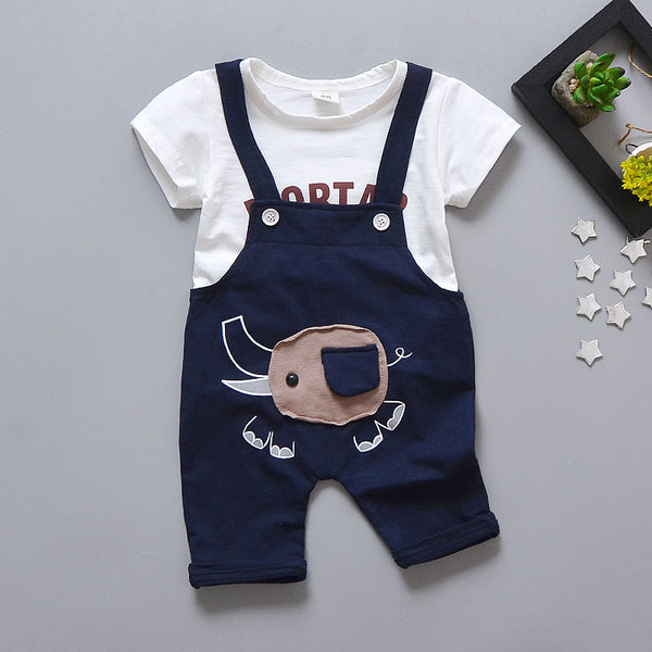 Elephant Overall Set For Summers