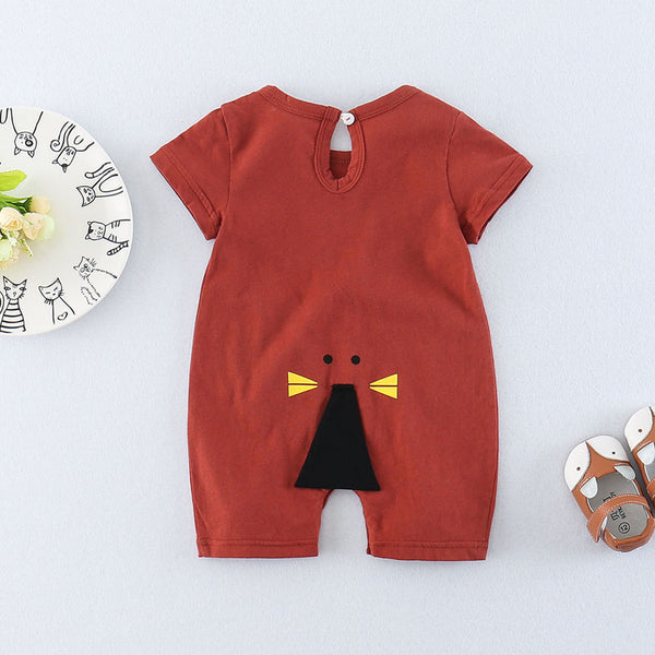 Cat Pocket Summer Romper