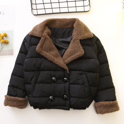 Double Breasted Winter Jacket