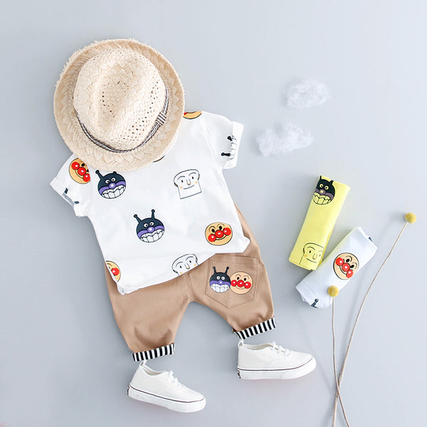 Clown Printed Summer Set