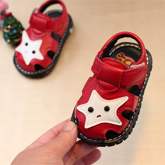Star Sandals for Toddlers