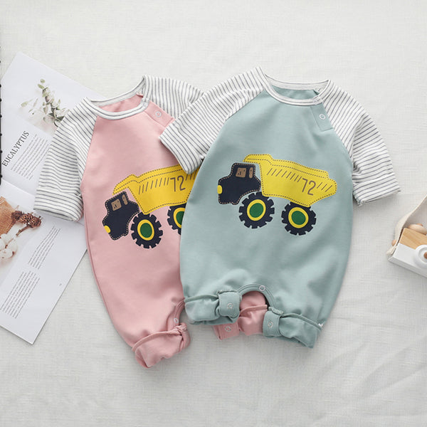 Truck Printed Jumpsuit