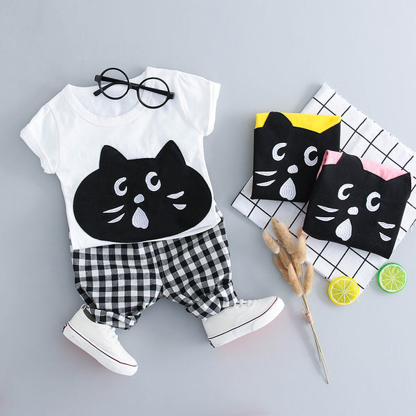 Cute Cat Summer Set