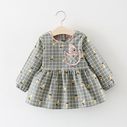 Checks Baby Girl Dress