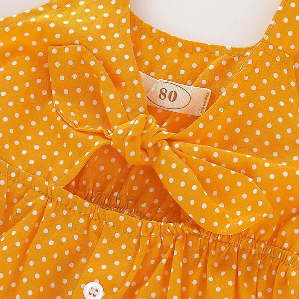 Polka Dot Bow Dress