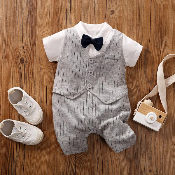Gentlemen Suit Romper