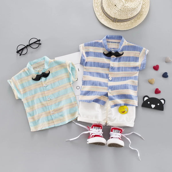 Mustache Bow Summer Set