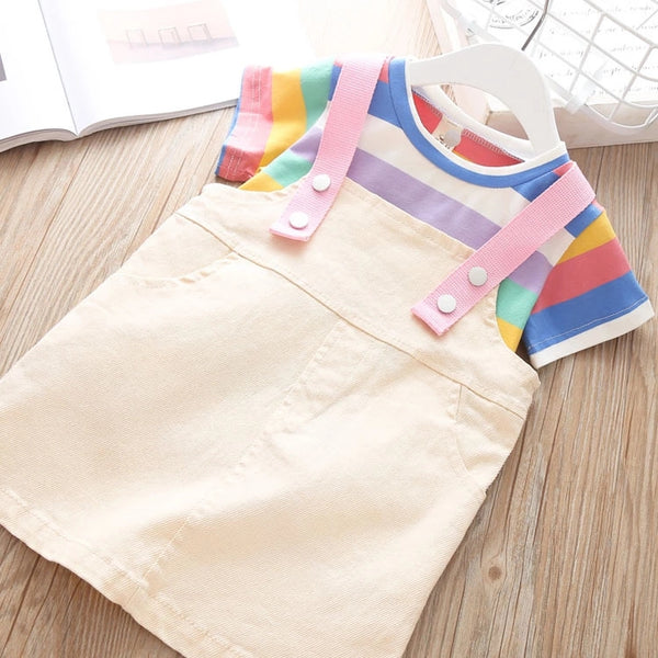 Poppy Dungaree Set