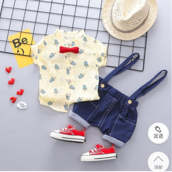 Ice Cream Printed Summer Set