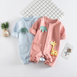 Giraffe Made Baby Jumpsuit
