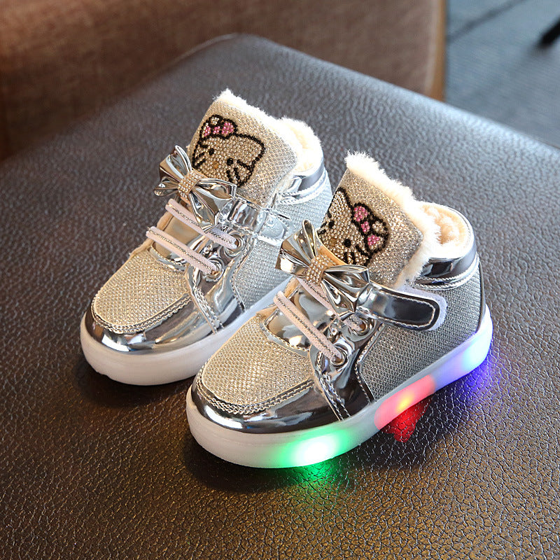 Glowing Sneakers For Winters