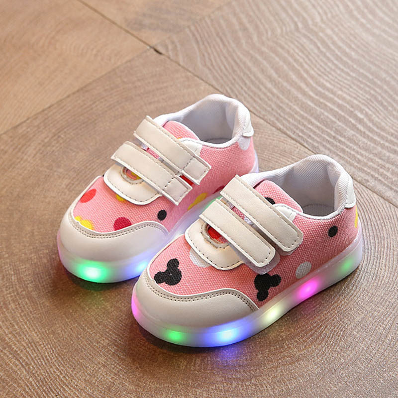 Led Casual Dots Shoes