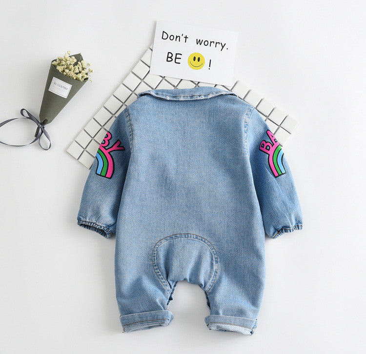Denim Baby Bodysuits
