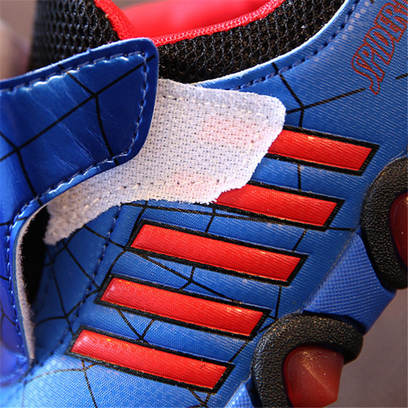 Spiderman Led Shoes