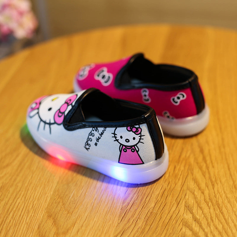Mismatched Hello Kitty Shoes