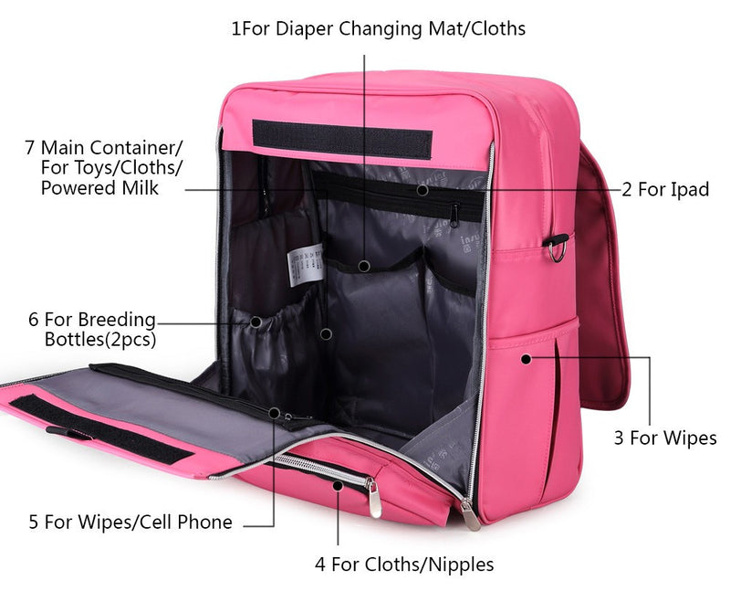 Multi Use Diaper Bag