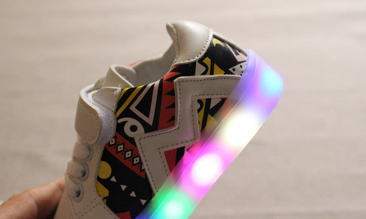 Aztec Print Shoes