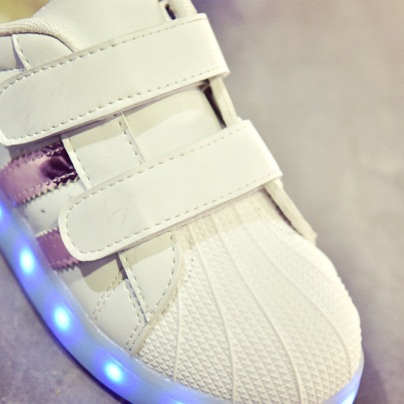 USB rechargeable LED Sneakers