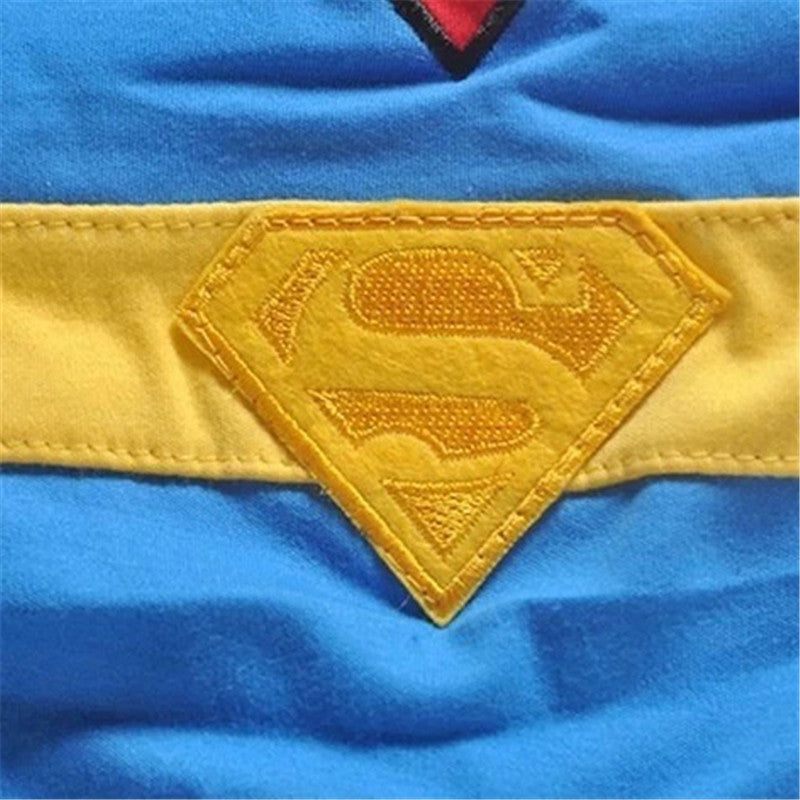 Superman Costume Bodysuit